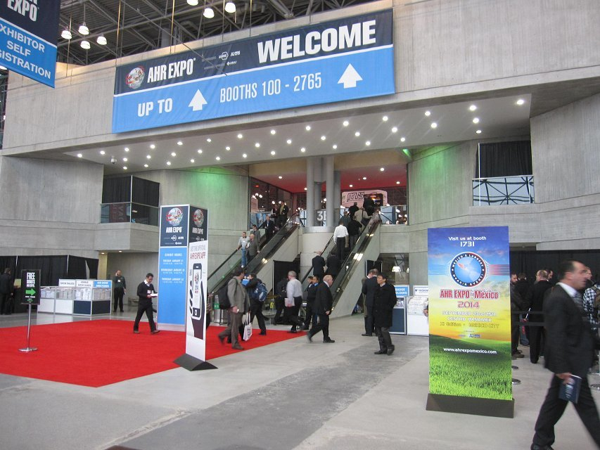 2014 AHR EXPO In New York
