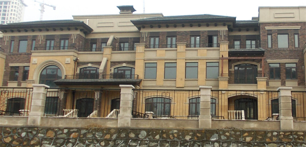 Villa--Solid Wood Aluminum Casement Window-Energy Saving