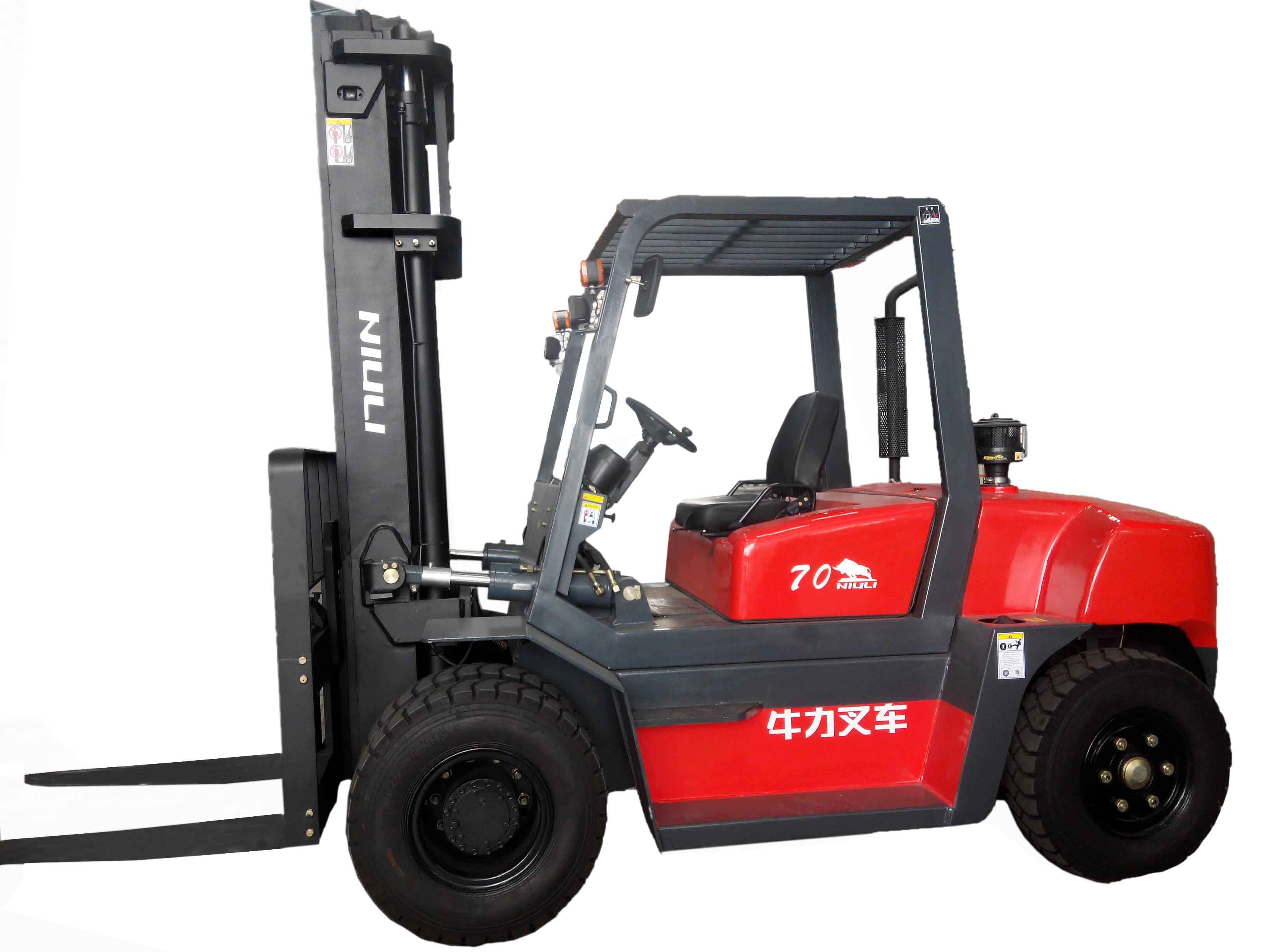 Niuli 7Ton diesel forklift with CE certificates 3