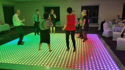 60x60 Slim led digital dance floor in Canada