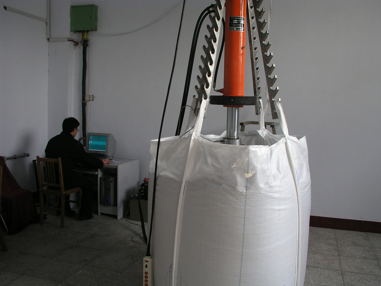 FIBC Load Testing