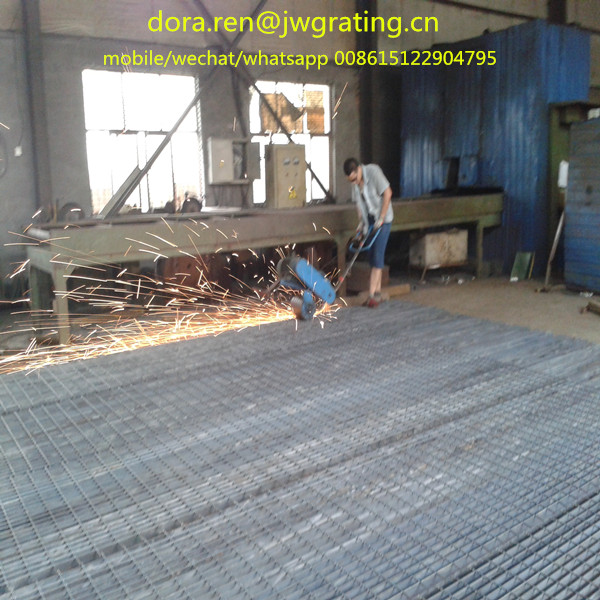 End cutting of original grating panel