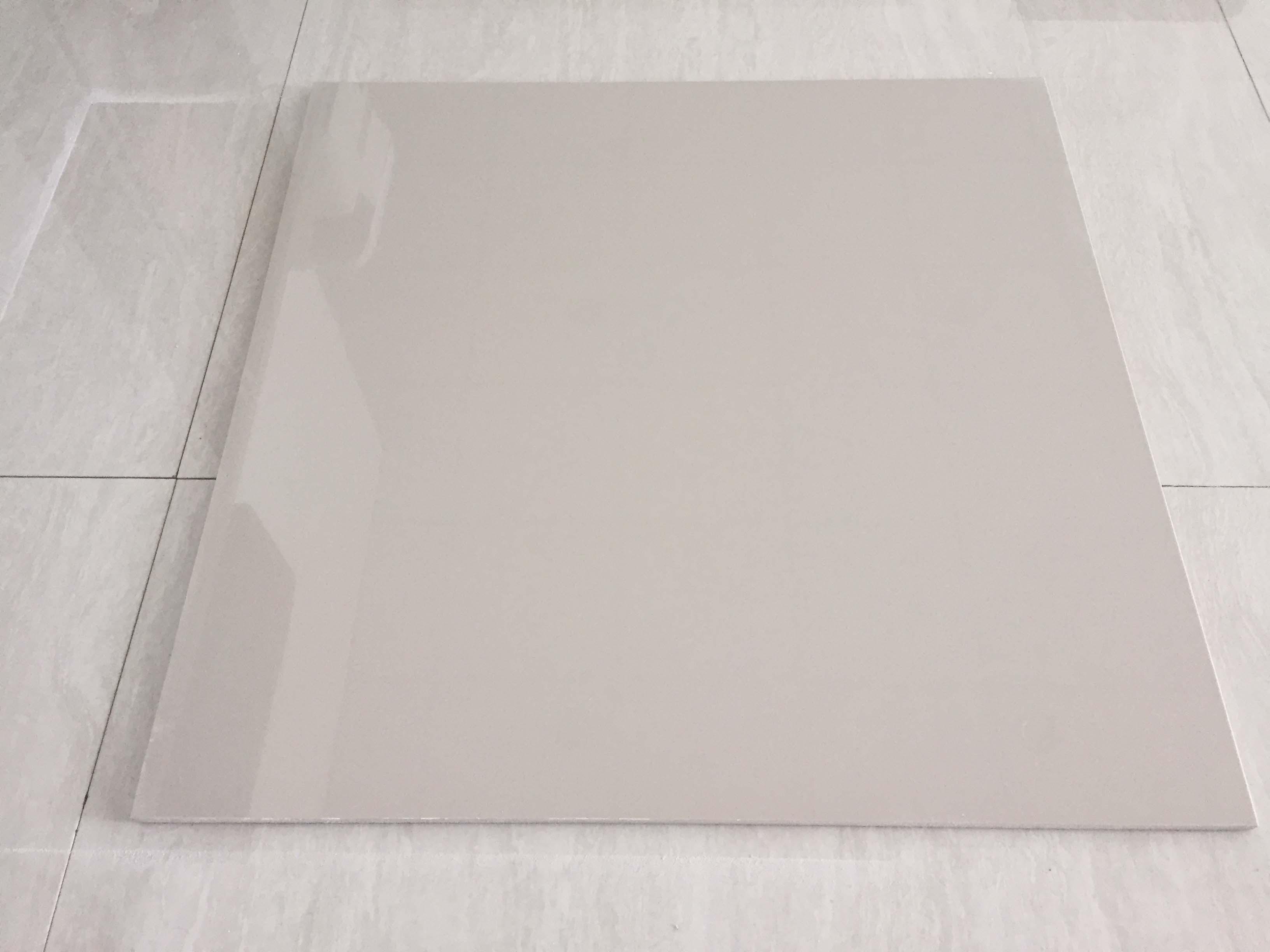 Sale $3.3 Promotion Foshan Ceramic Ivory White Polished Porcelain Floor Tile (P600)