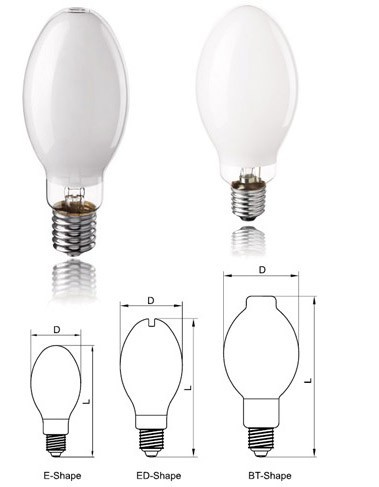 High Pressure Mercury Lamp with CE for outdoor or indoor light
