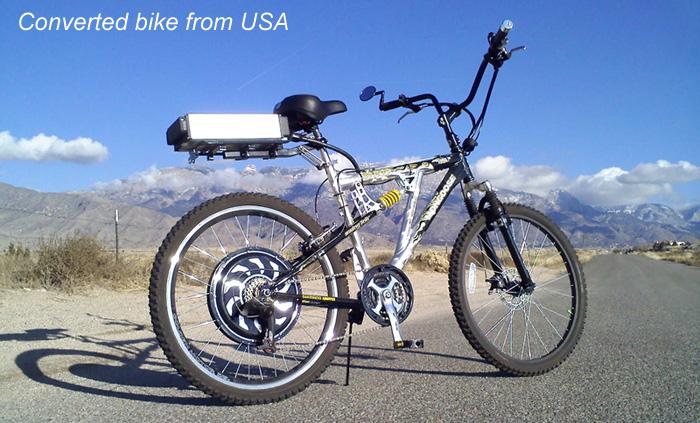 Magic pie motor bike from USA