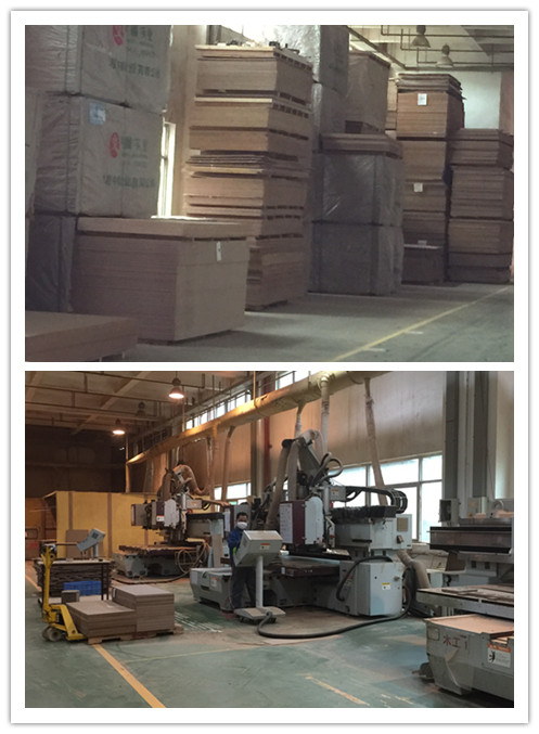 MDF workshop with mdf material warehouse