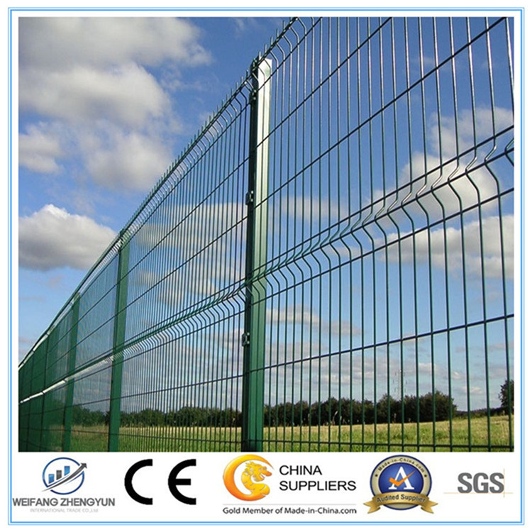 Galvanized and PVC Coated Welded Mesh Fence/Garden Fence