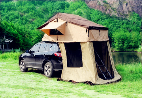 Popular Soft Top Car Roof Top Tent for Camping