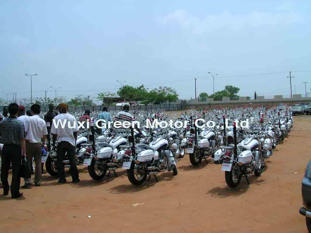 250CC Police Motorbike to Nigeria