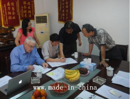 Customer Visit from Hongkong