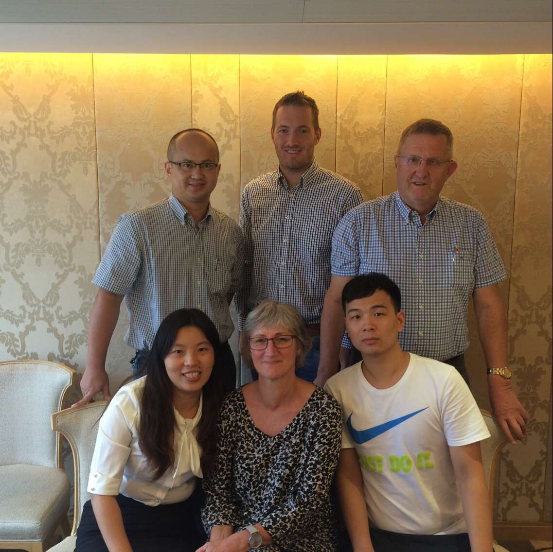meeting with customer from Norway