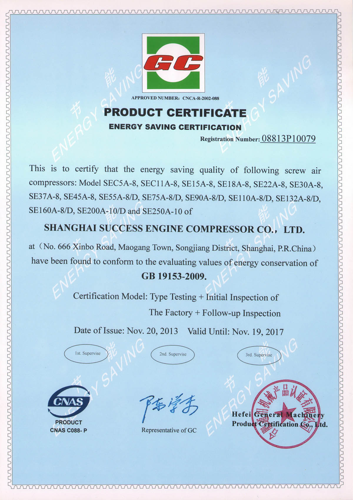 Energy Saving Certificate