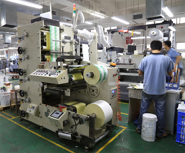Label Sticker Flexo Printing Machine