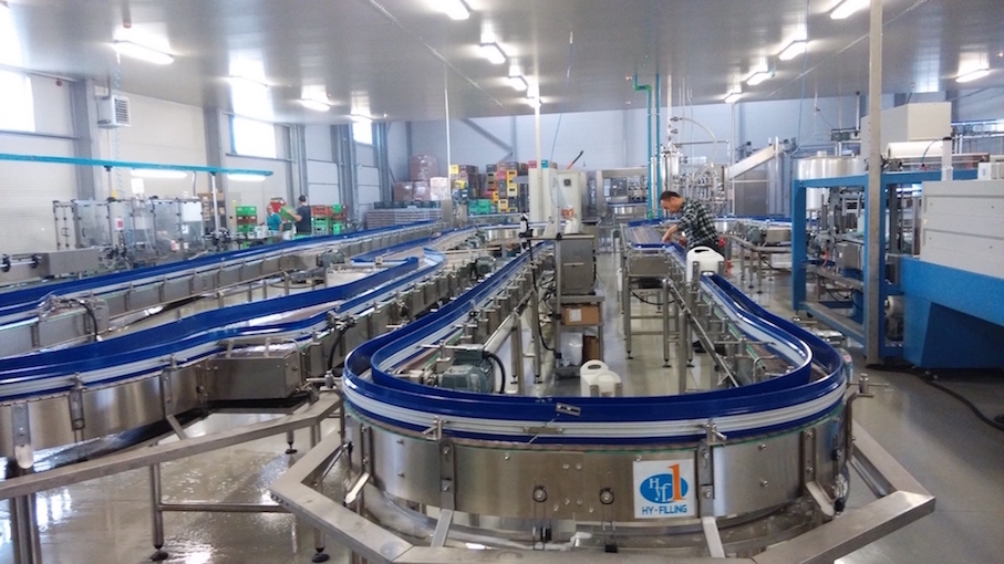 15000CPH Carbonated Drinks Canning Line in Hungary
