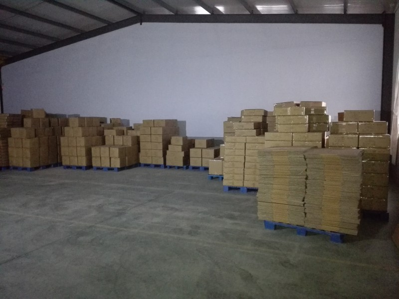 warehouse of shopping bag