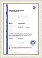 TUV Certification for 180W Mini Car Inverter