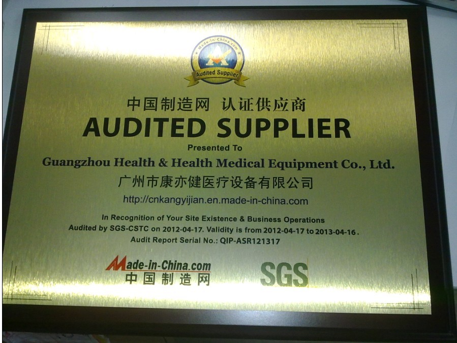 Congratulations! We Are Awarded SGS Audited Supplier
