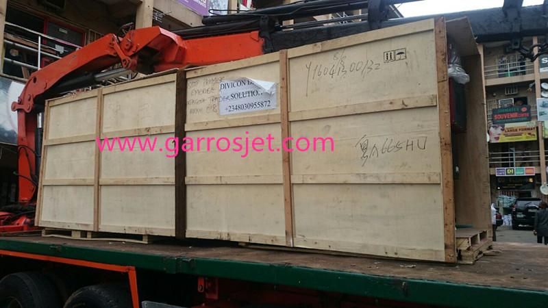 Best 3.2m 10feet Garros RT-3202 eco solvent banner printer arrive in Nigeria