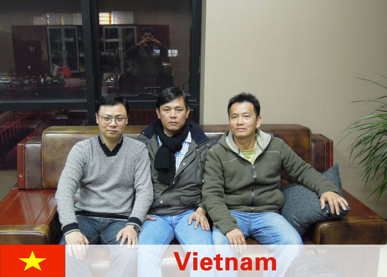 Viet Nam Customers Viisiting