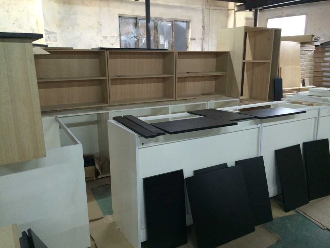 Customer's Kitchen Cabinet