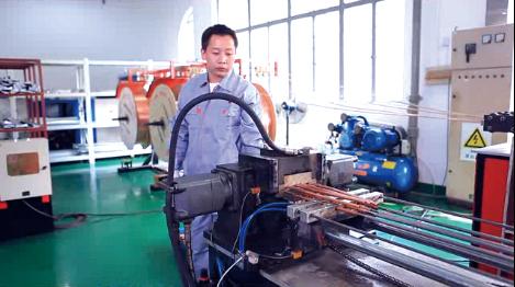 Chiller heat exchanger making