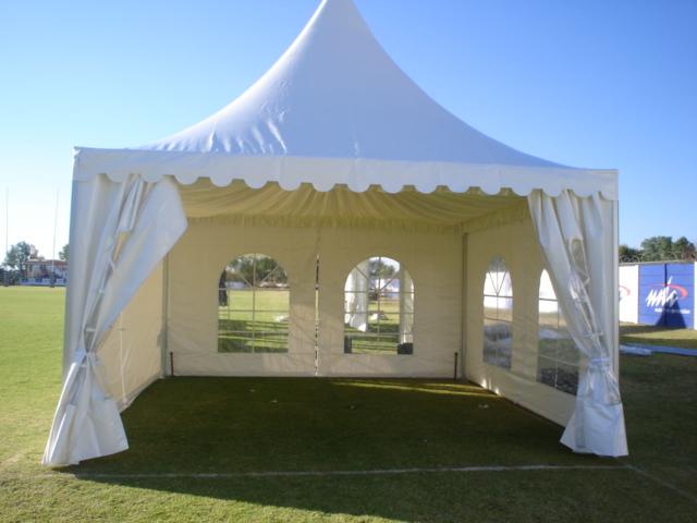 6x6m pagoda tent