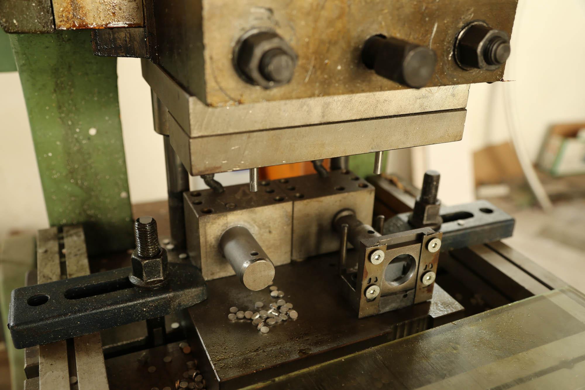 Pipe Punching Machine