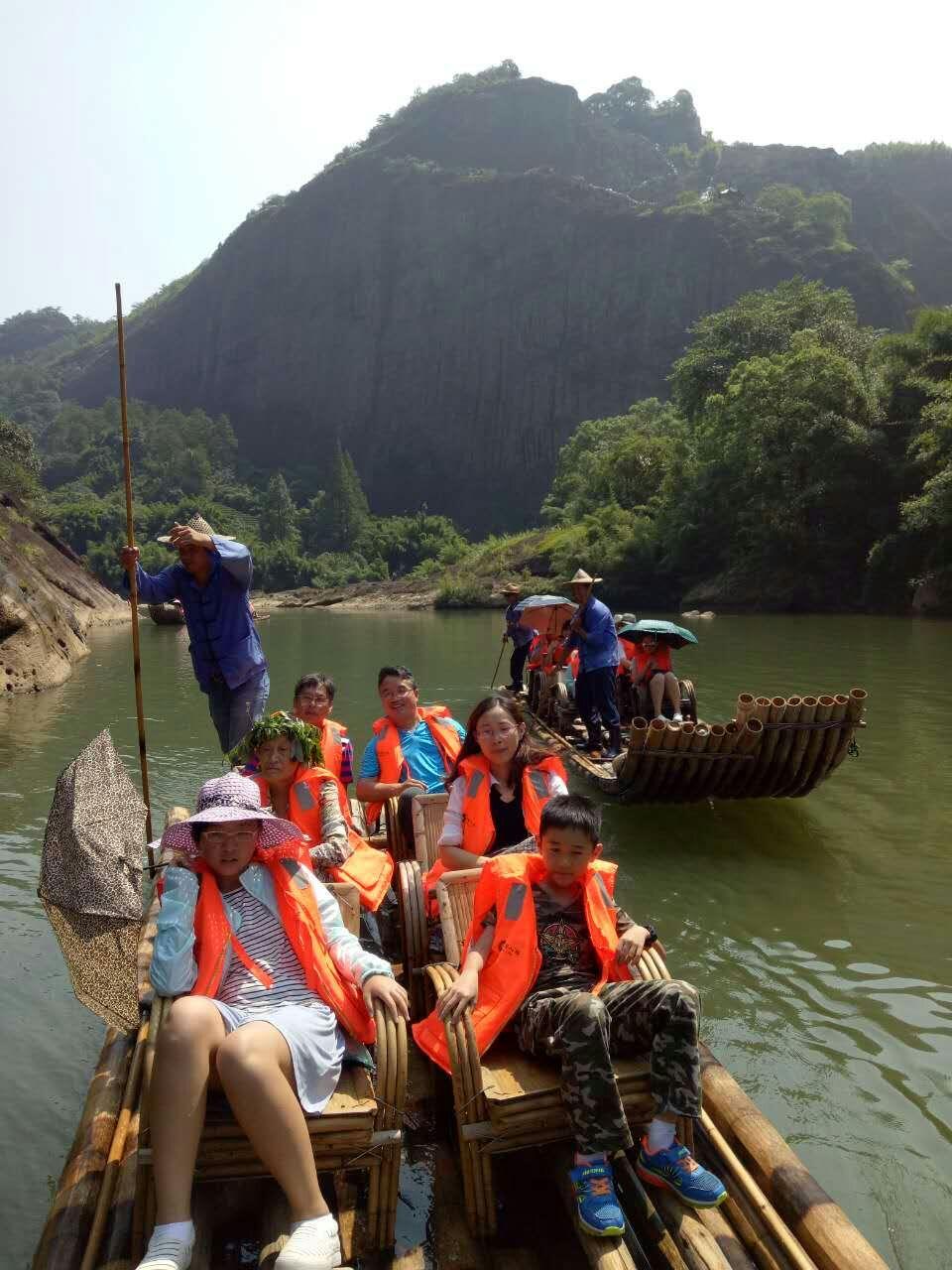Fujin Wuyishan traveling