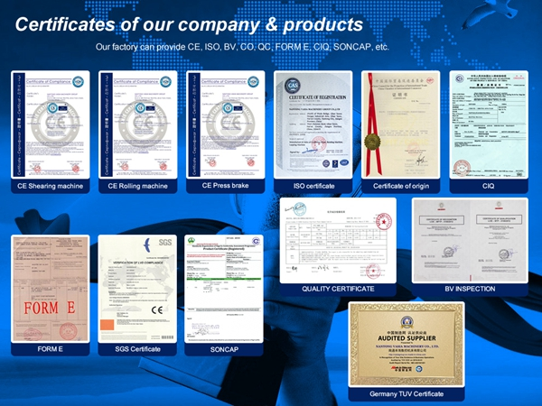 Certificates Of Our Company & Products