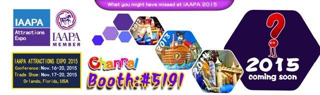 2015 IAAPA EXPO SHOW