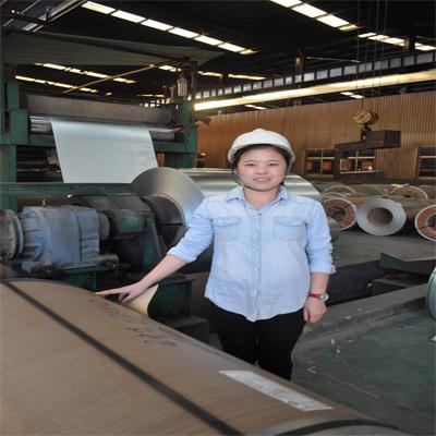Production line of PPGI