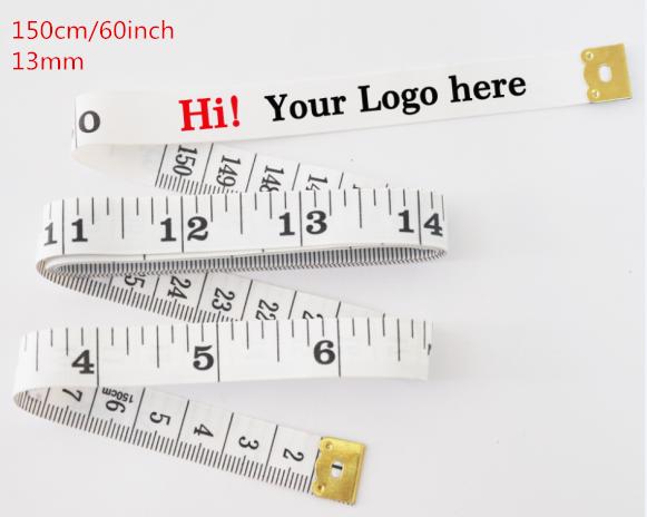 150 cm fiberglass tape measure with customized logo