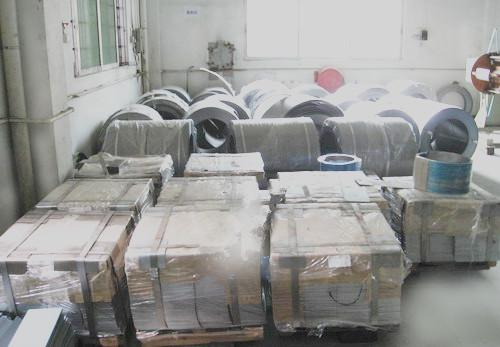 Raw material storing