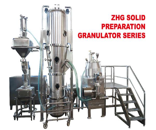 New Design Drying Granulating System