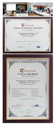 the certificates
