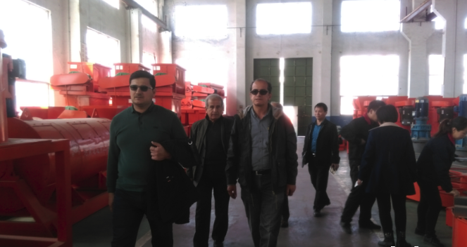 Welcome Iraq Client Visit our Organic Fertilizer Machine and Our Client's plant