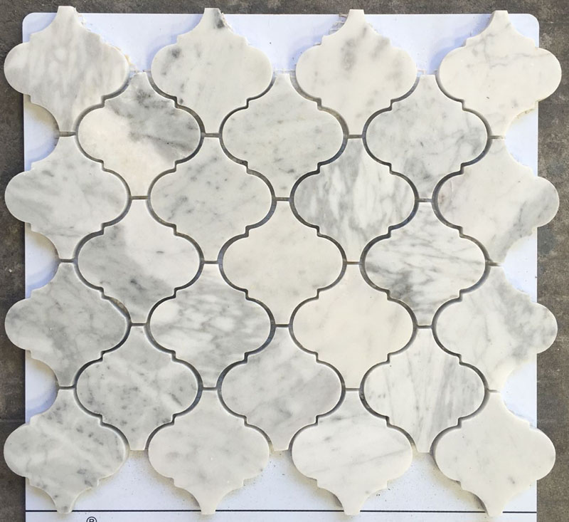 Lantern Shape Natueal Stone Mosaic Tile for Bathroom and Kitchen