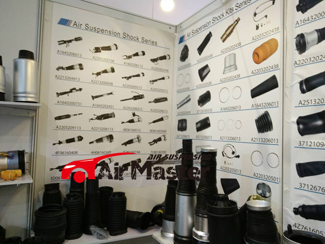 Repair Kits Samples At the Exhibition