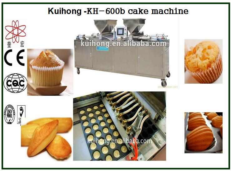 KH 600 cup cake making machine
