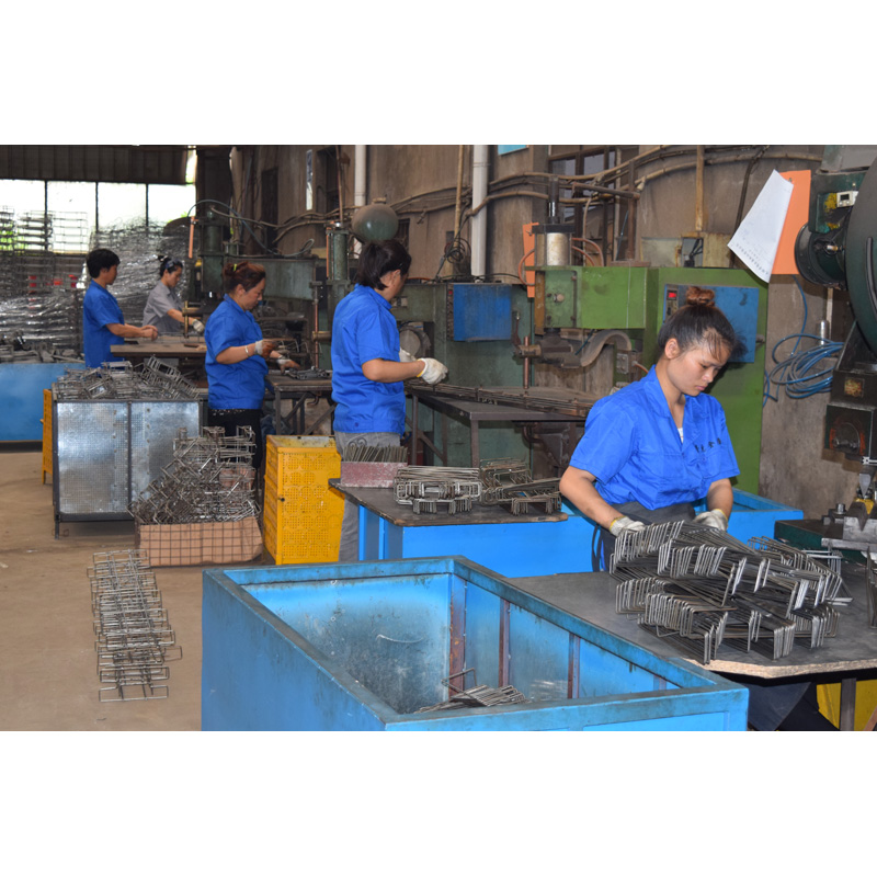 spot welding team for wire product