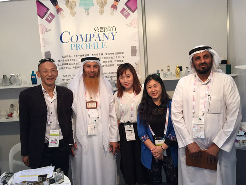 Anding on Dubai Exhibition