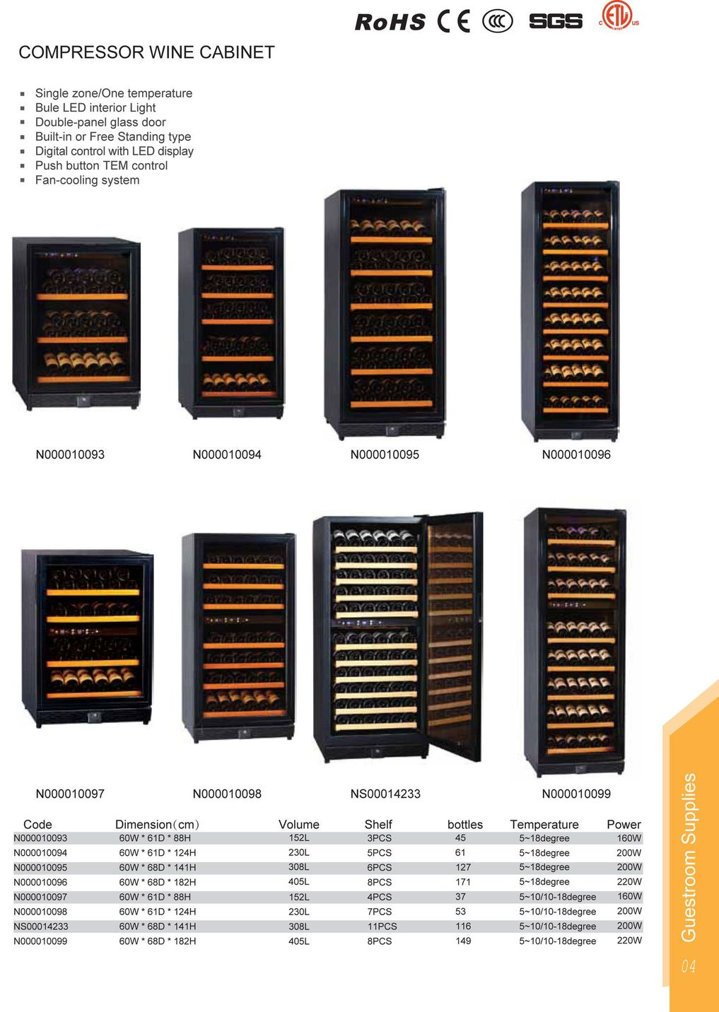 Cabinet With Wine Cooler Compressor Wine Cooler Wine Cellar Wine Cabinet Page 4
