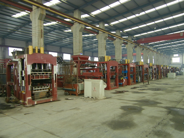 QT10-15 series fully automatic block making machines