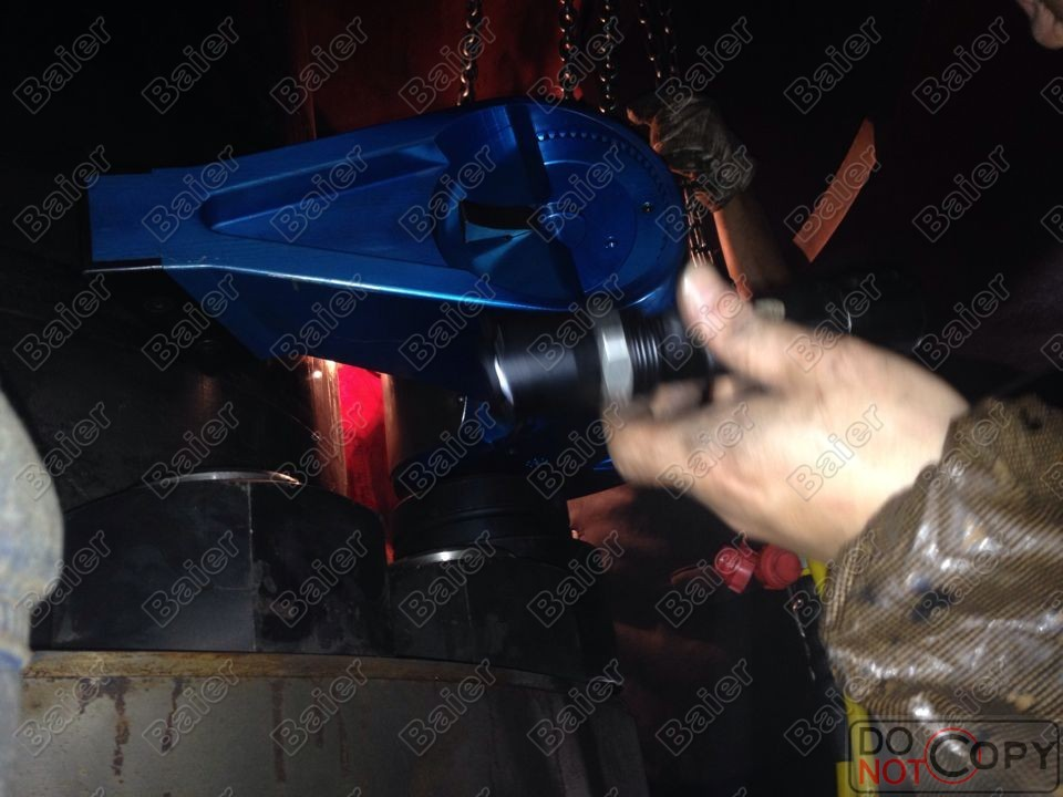 Hydraulic wrench