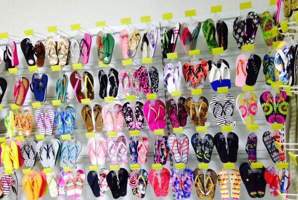 Flip Flops show room
