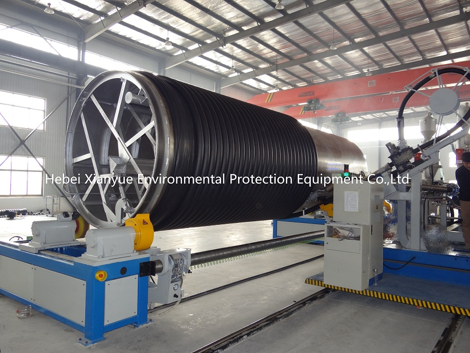 PP/HDPE spiral winding pipe equipment