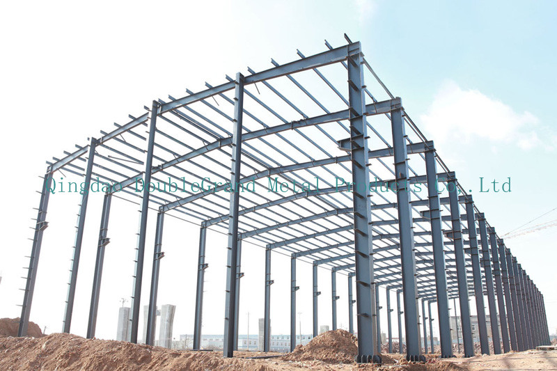 Examples Of Steel Frame Buildings : Pre engineering steel structure frame building qingdao