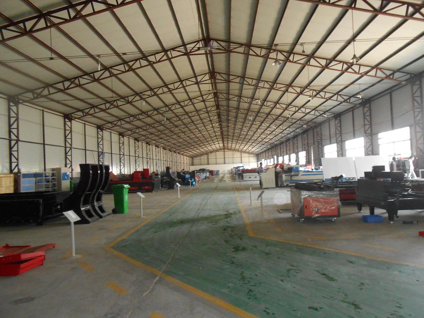 laser machine manufacturing shop