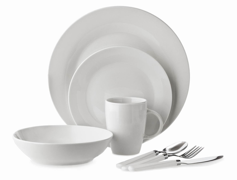 32 piece Super White Porcelain Dinnerware Set(TM1304002)