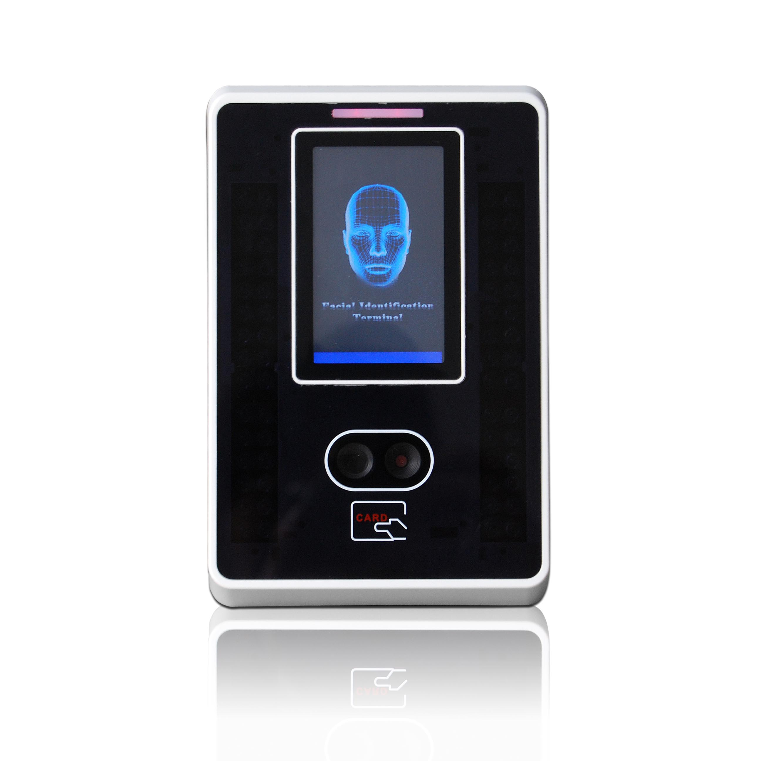 new arrival facial recognition with Proximity card reader
